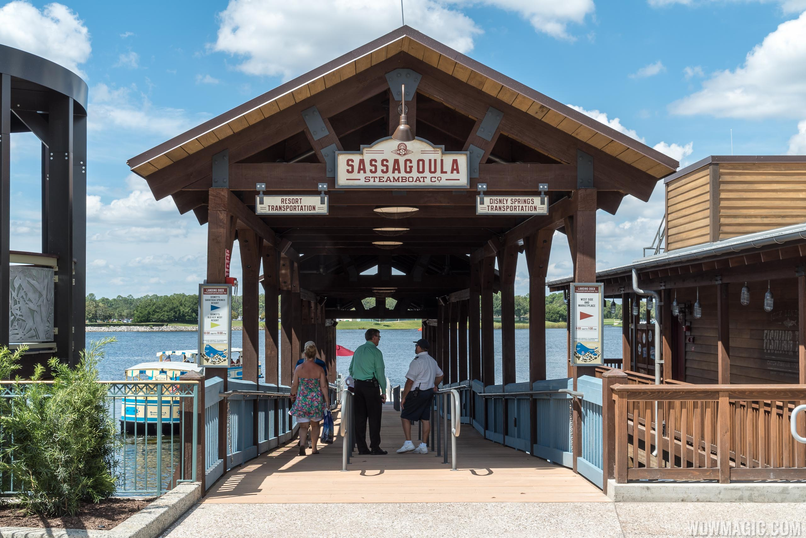 PHOTOS - Sassagoula River Cruise boat dock opens at The Landing in ...