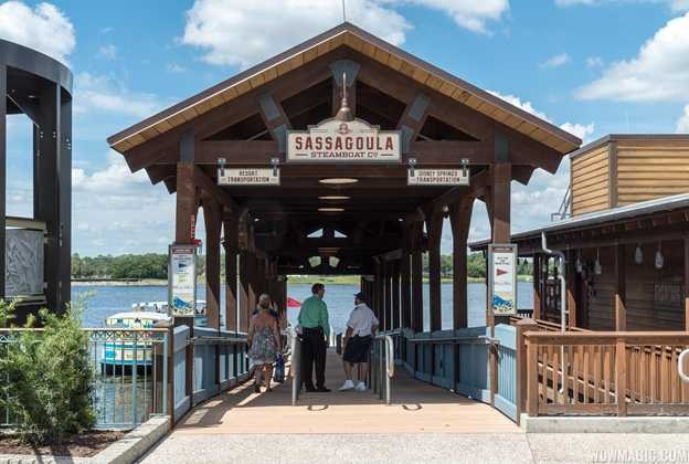 The Landing boat dock