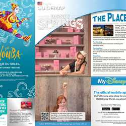 Disney Springs guidemap
