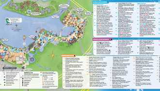 PHOTOS - Downtown Disney officially transitions to Disney Springs today - see the new guide map