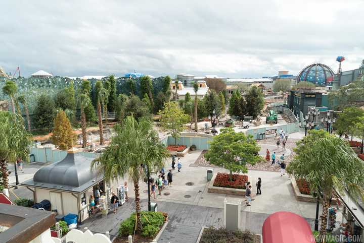 PHOTOS - Latest look at 'The Springs' under construction at Disney Springs
