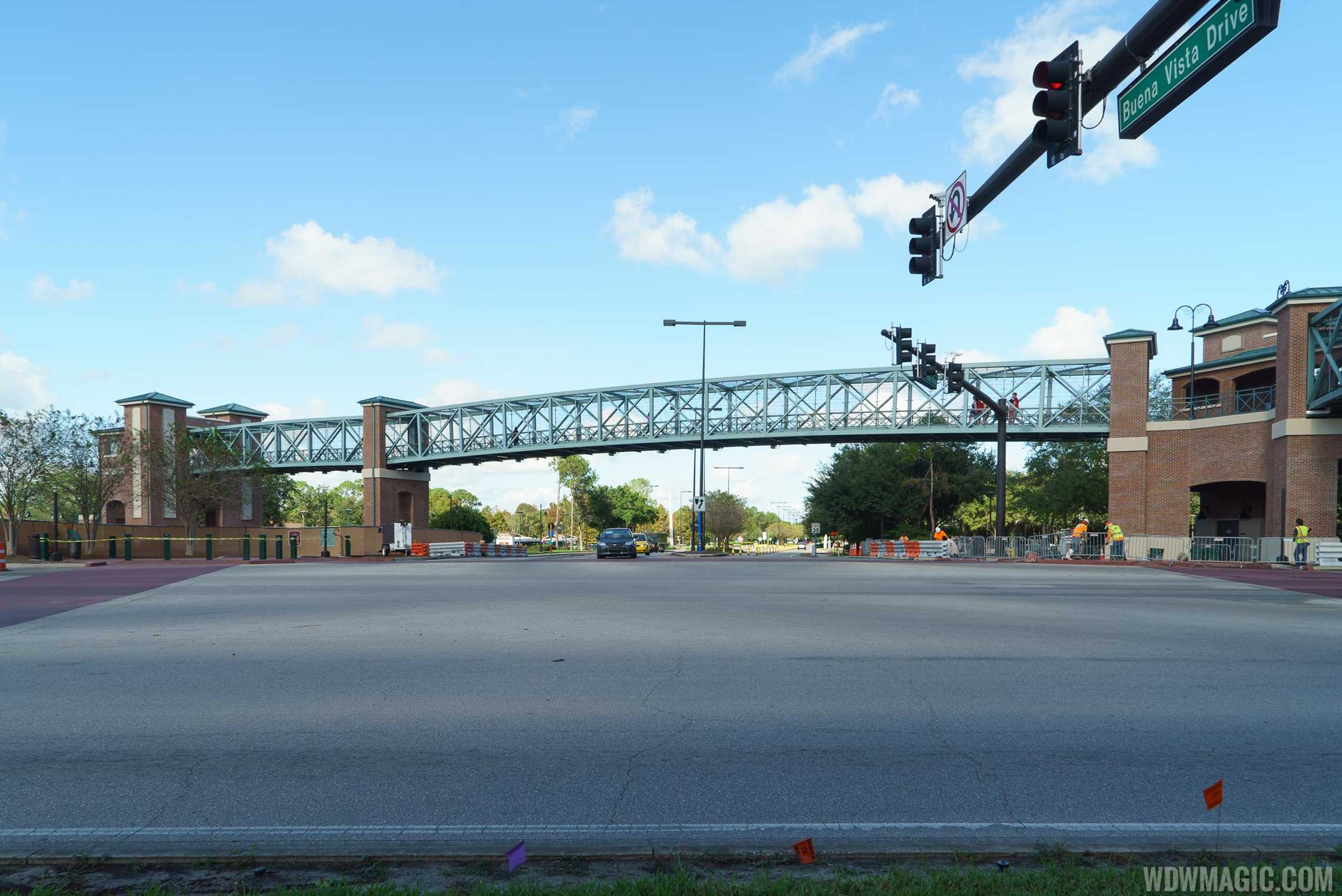 View of the Buena Vista Drive span