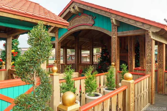 Santa's Chalet at Disney Springs