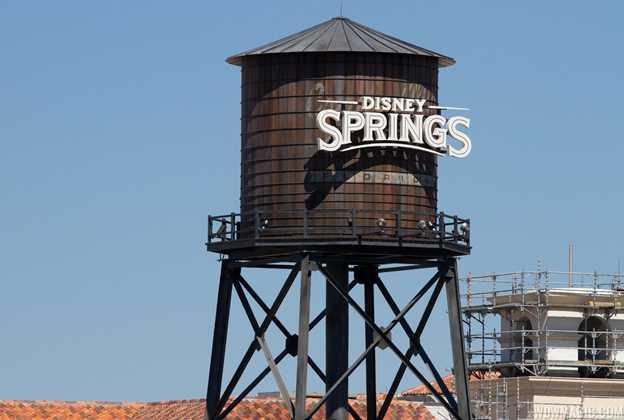 Disney Springs water tower