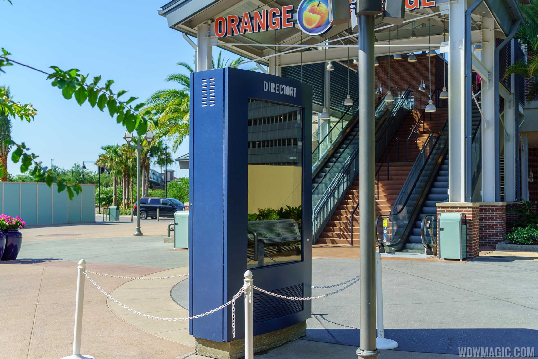 Disney Springs electronic directory