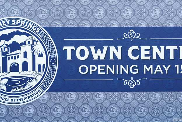 Town Center opening May 15 sign