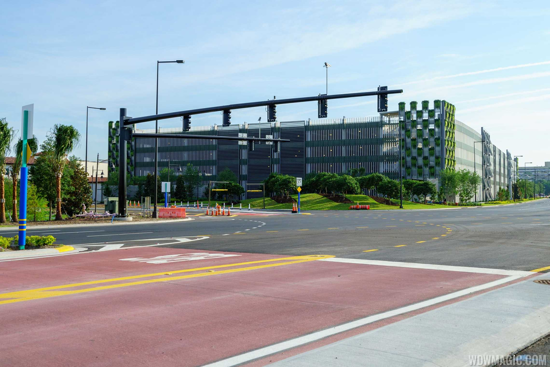 Lime Garage viewed from Buena Vista Drive
