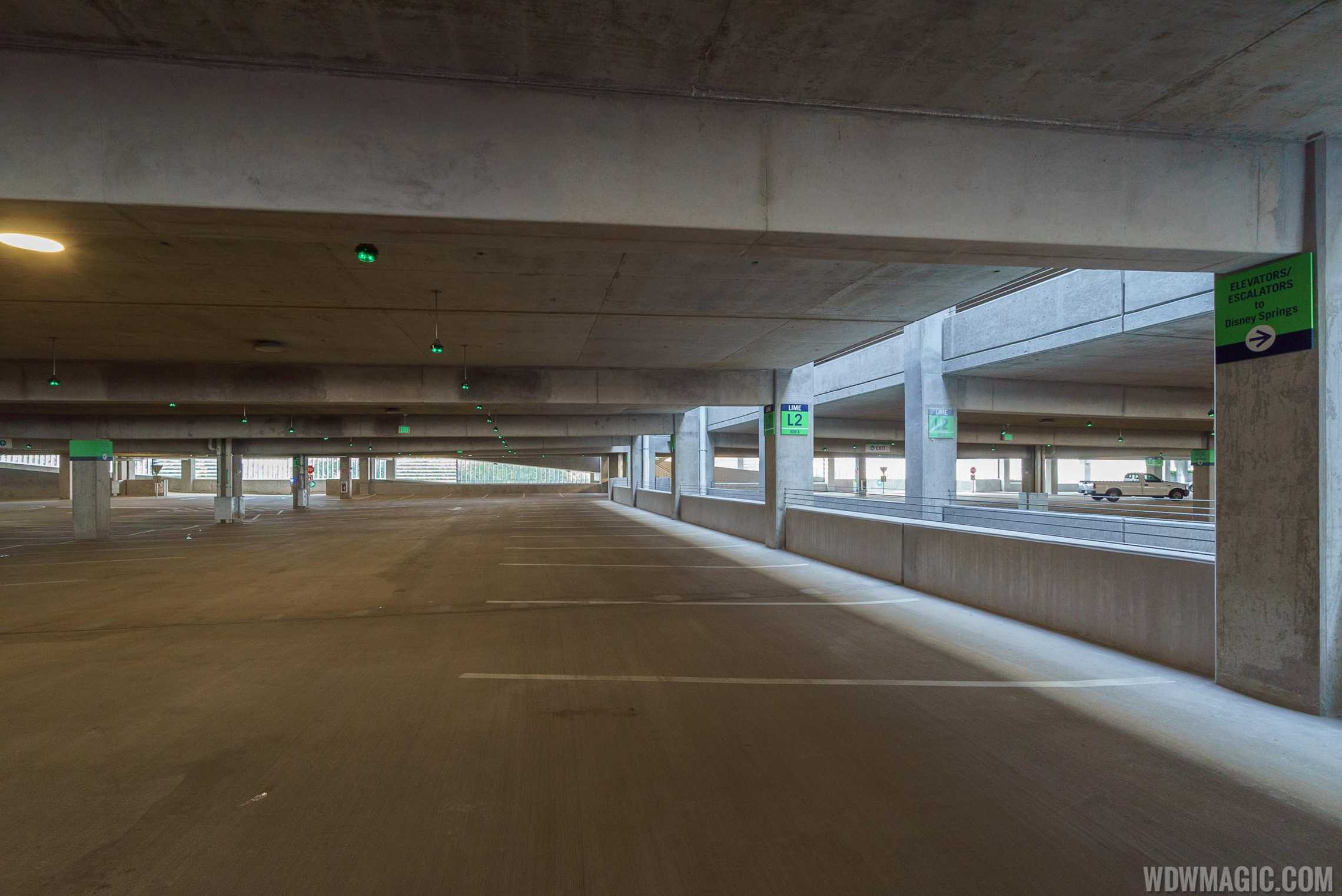 Level 2 parking at Lime