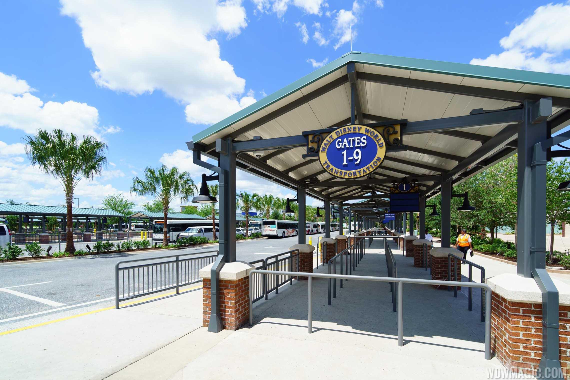 Disney Springs bus stop