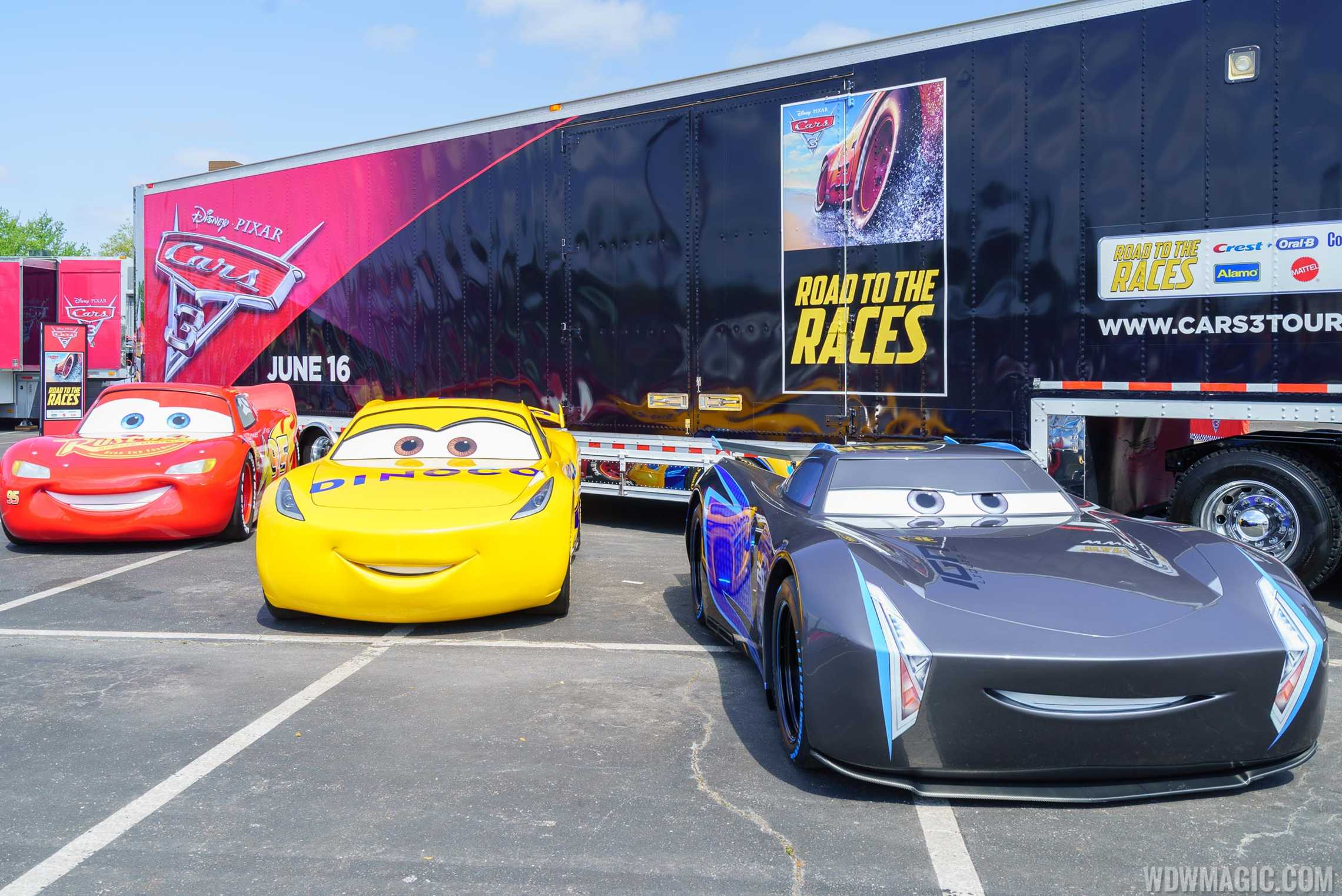 Photos Cars Road To The Races Now At Disney Springs