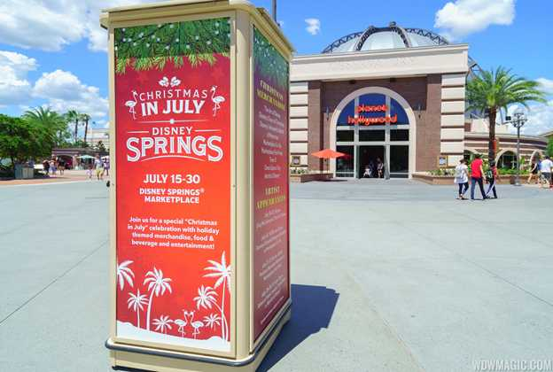 Christmas in July at Disney Springs