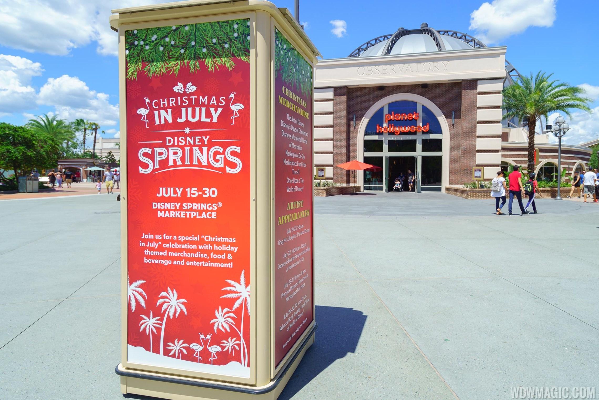 Christmas in July at Disney Springs