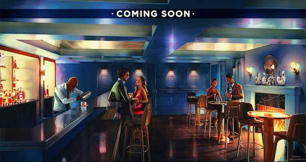 Ale and Compass Lounge concept art