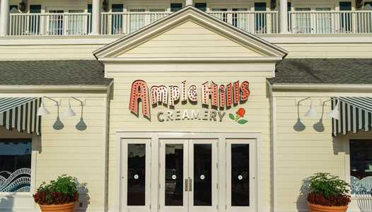 PHOTOS - Ample Hills Creamery now open at Disney's BoardWalk