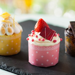 6 of 10: Be Our Guest Restaurant - Be Our Guest Restaurant menu item - cupcakes