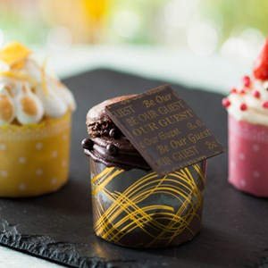 7 of 10: Be Our Guest Restaurant - Be Our Guest Restaurant menu item - cupcakes
