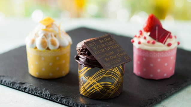 Be Our Guest Restaurant - Be Our Guest Restaurant menu item - cupcakes