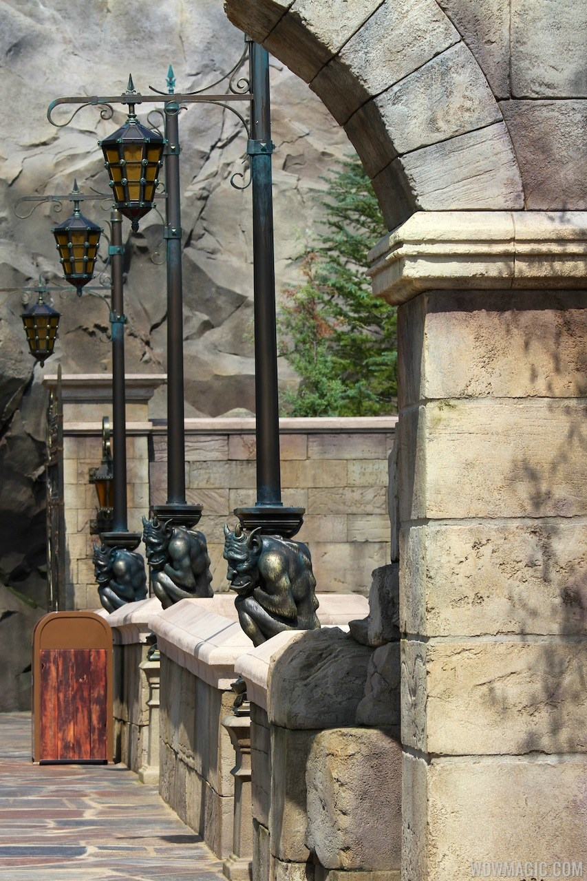 Be Our Guest Restaurant exterior (pre-opening)