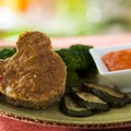 Be Our Guest Restaurant - Turkey Meatloaf from the Kids' Menu at Be Our Guest Restaurant