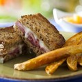 Be Our Guest Restaurant - Carved Turkey Sandwich from the Kids' Menu at Be Our Guest Restaurant