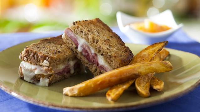 Be Our Guest Restaurant - Carved Turkey Sandwich from the Kids Menu at Be Our Guest Restaurant