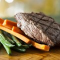 Be Our Guest Restaurant - Grilled Steak from the Kids' Menu at Be Our Guest Restaurant