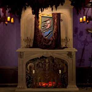 2 of 3: Be Our Guest Restaurant - Inside Be Our Guest Restaurant's West Wing - Prince to Beast portrait