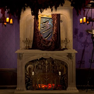 3 of 3: Be Our Guest Restaurant - Inside Be Our Guest Restaurant's West Wing - Prince to Beast portrait