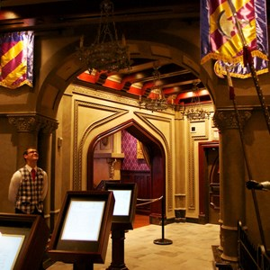 1 of 19: Be Our Guest Restaurant - Be Our Guest Restaurant - The Armory Room