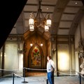 Be Our Guest Restaurant - Be Our Guest Restaurant - Looking towards the lobby from the Armory Room