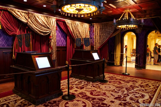 Be Our Guest Restaurant - Be Our Guest Restaurant - Registers that will be staffed by cast members in the Parlor Room