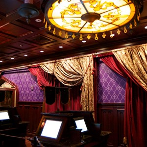 6 of 19: Be Our Guest Restaurant - Be Our Guest Restaurant - Inside the Parlor Room