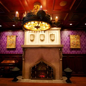7 of 19: Be Our Guest Restaurant - Be Our Guest Restaurant - Inside the Parlor Room