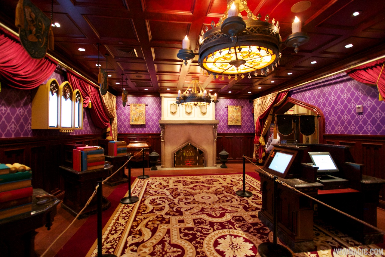 be our guest dining rooms | Inside Be Our Guest Restaurant dining rooms - Photo 8 of 19