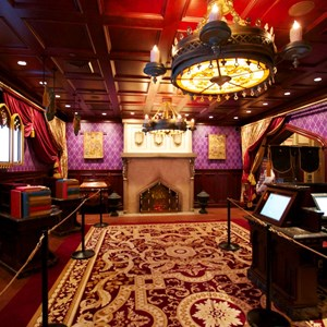 8 of 19: Be Our Guest Restaurant - Be Our Guest Restaurant - Inside the Parlor Room
