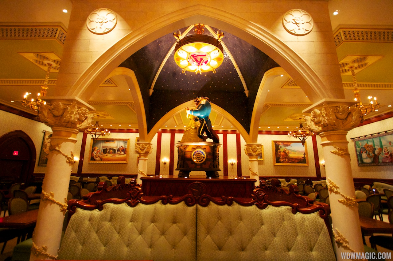Inside be our guest restaurant dining rooms photo 9 of 19 for 3 dining rooms at be our guest
