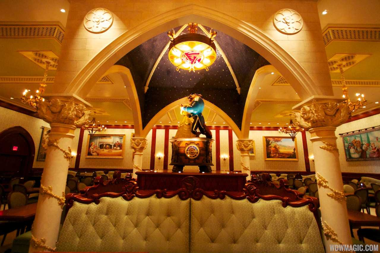 be our guest dining rooms | Inside Be Our Guest Restaurant dining rooms - Photo 9 of 19