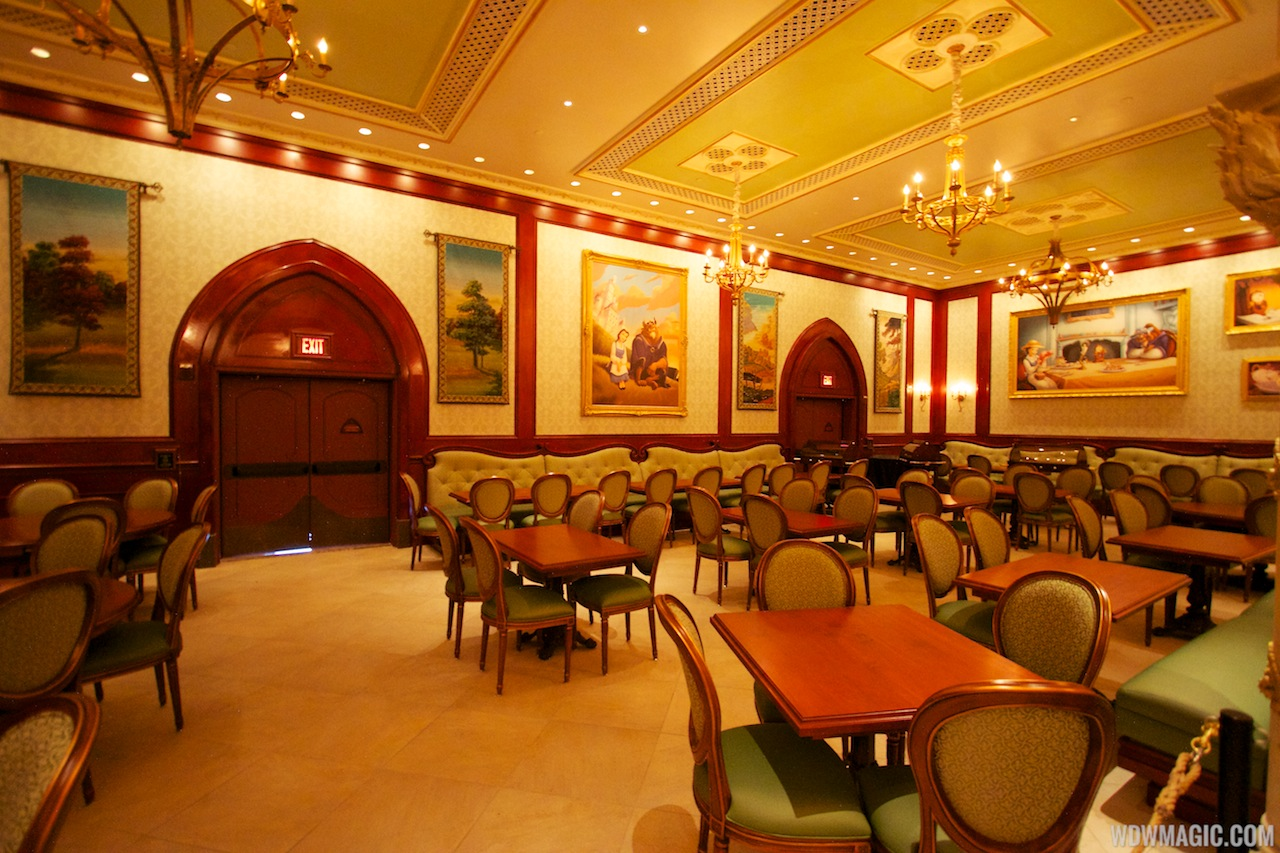 inside be our guest restaurant dining rooms photo 12 of 19 For3 Dining Rooms At Be Our Guest