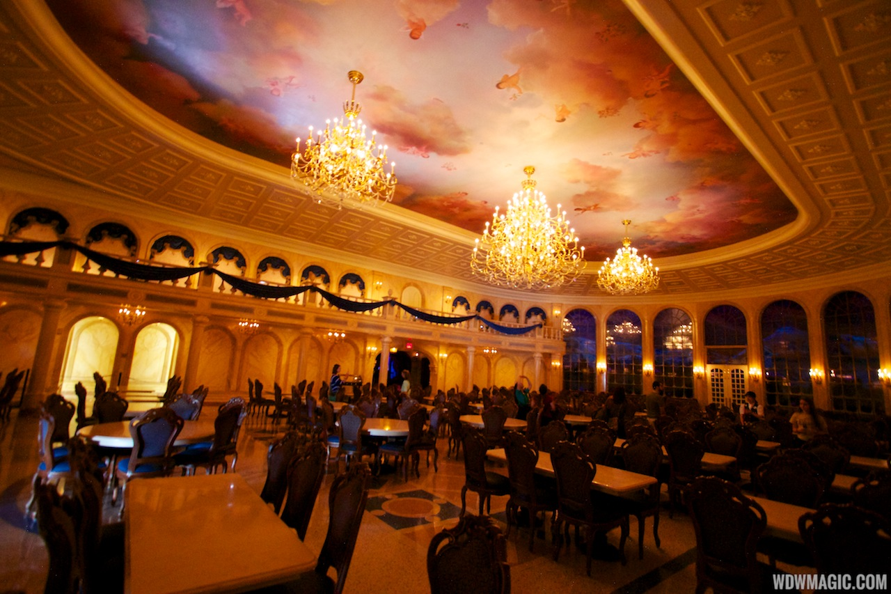 inside be our guest restaurant dining rooms - photo 3 of 19
