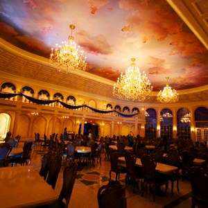 16 of 19: Be Our Guest Restaurant - Be Our Guest Restaurant - The Ballroom dining room
