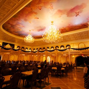 18 of 19: Be Our Guest Restaurant - Be Our Guest Restaurant - The Ballroom Dining Room