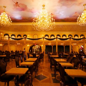 19 of 19: Be Our Guest Restaurant - Be Our Guest Restaurant - The Ballroom dining room