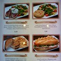 Be Our Guest Restaurant - Be Our Guest Restaurant lunch - menu displays in the Armory Room