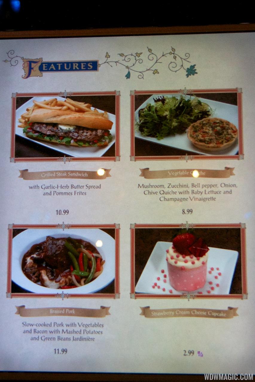 Tina S Restaurant Menu