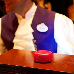 "6 of 25: Be Our Guest Restaurant - Be Our Guest Restaurant lunch - The 'Magic Rose"" RFID"
