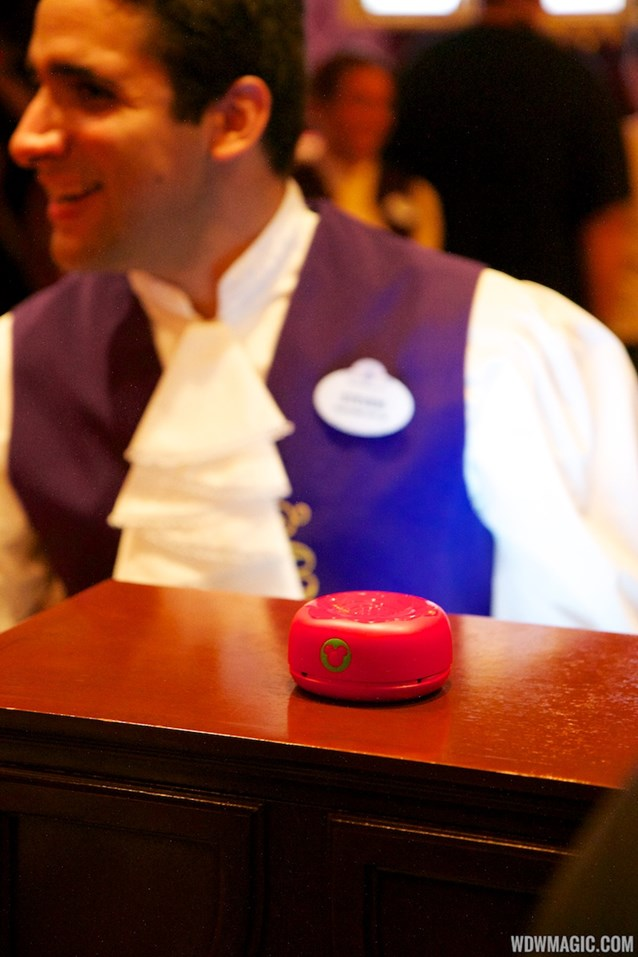 "Be Our Guest Restaurant - Be Our Guest Restaurant lunch - The 'Magic Rose"" RFID"