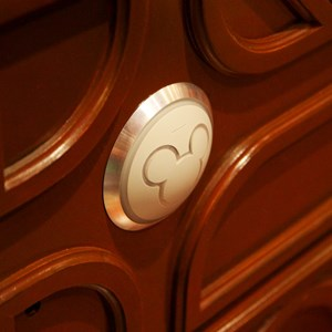 7 of 25: Be Our Guest Restaurant - Be Our Guest Restaurant lunch - The Mickey head RFID reader which programs the rose