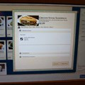 Be Our Guest Restaurant - Be Our Guest Restaurant lunch - The ordering kiosk screen