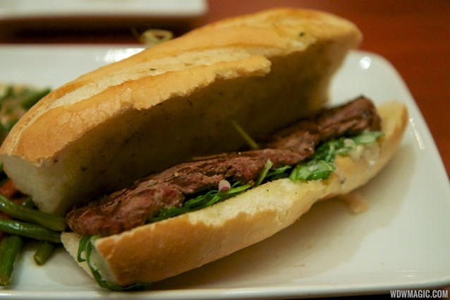 Be Our Guest Restaurant - Be Our Guest Restaurant lunch -  Grilled Steak Sandwich
