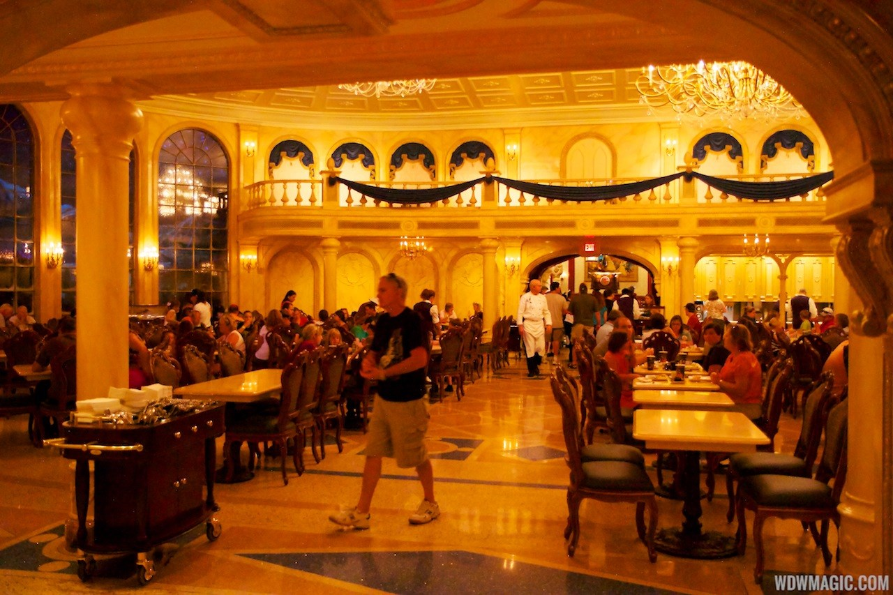 Be Our Guest Restaurant lunch
